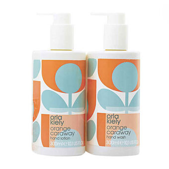 Orla Kiely Orange Caraway Hand Care Kit, , large