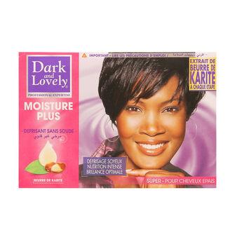 Dark And Lovely Moisture Plus Relaxer Super Kit, , large