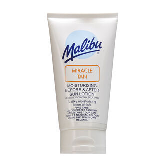 Malibu Miracle Tan Before & After Sun Lotion 150ml, , large