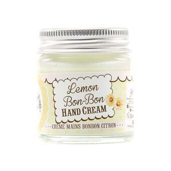Rose & Co Patisserie De Bain Lemon Bon Bon Hand Cream Jar 30, , large