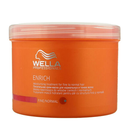 Wella Enrich Moisturising Treatment Coarse Hair 500ml, , large