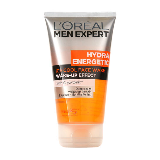 L'Oréal Men Expert Hydra Energetic Ice Cool Face Wash 150ml, , large