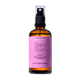 Balm Balm 100% Organic Rose Floral Water Hydrosol 30ml, , large