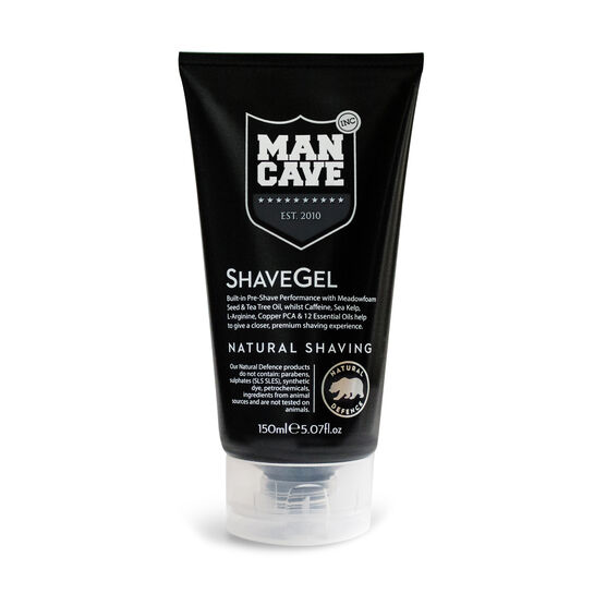 ManCave Caffeine Shave Gel 150ml, , large