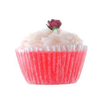 Rose & Co Patisserie de Bain Cranberries & Cream CupcakeSoap, , large