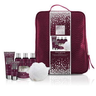 Baylis & Harding Midnight Fig & Pomegranate Backpack Set, , large