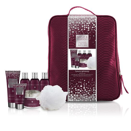Baylis & Harding Midnight Fig & Pomegranate Backpack Set, , large