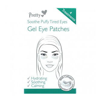 Pretty Soothe Puffy Tired Eyes Gel Eye Patches, , large