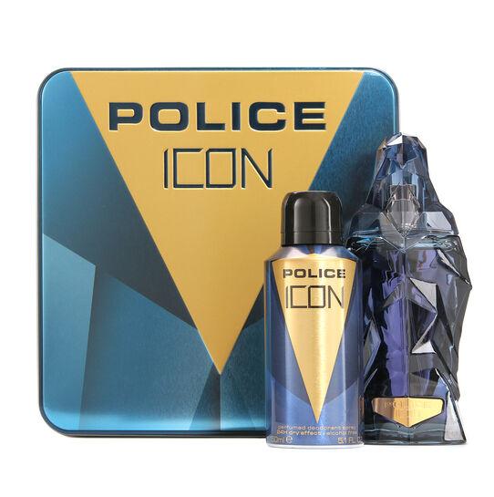 Police Icon Gift Set 125ml, , large
