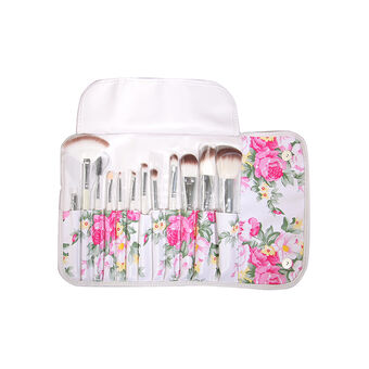 Body Collection Vintage Brush Roll Gift Set, , large