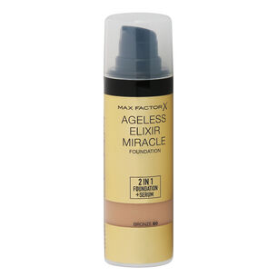Max Factor Ageless Elixir 2 in 1 Foundation + Serum 30ml, , large