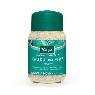 Kneipp Cold & Sinus Relief Bath Salt Eucalyptus 500g, , large