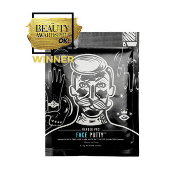 BARBER PRO Face Putty Black Peel-Off Mask 3x 7g, , large