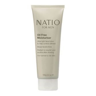 Natio For Men Oil Free Moisturiser 100g, , large
