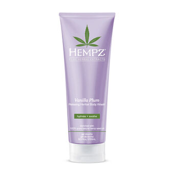 Hempz Vanilla Plum Relaxing Herbal Body Wash 250ml, , large