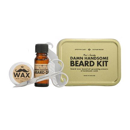 men 39 s society beard grooming kit fragrance direct. Black Bedroom Furniture Sets. Home Design Ideas