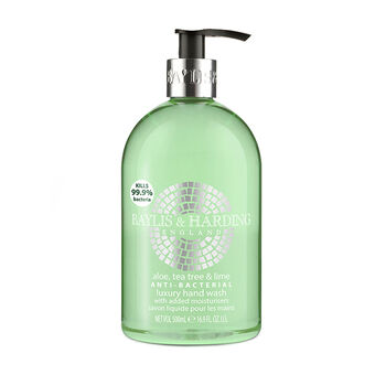 Baylis & Harding Aloe Tea Tree & Lime Hand Wash 500ml, , large