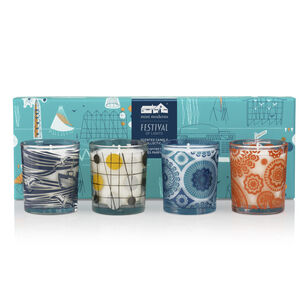 Mini Moderns Festival of Lights Scented Candle Collecton, , large