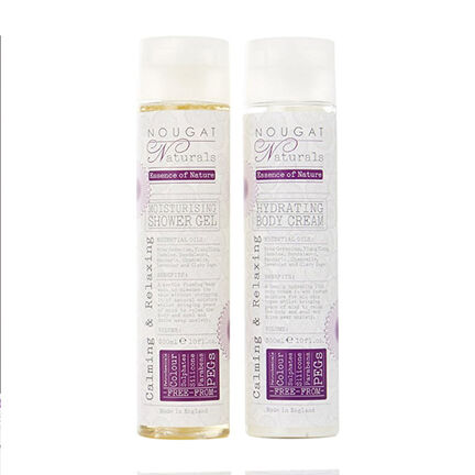 Nougat Naturals Calming & Relaxing Hydrating Body Care Set, , large