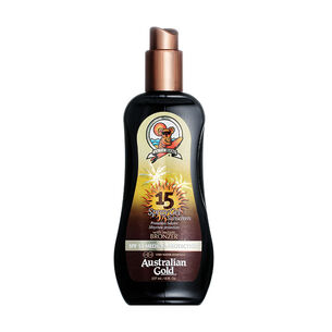 Australian Gold Spray Gel with Bronzer SPF15 237ml, , large