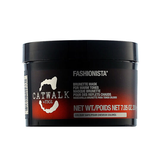 Tigi Catwalk Fashionista Brunette Hair Mask 200g, , large