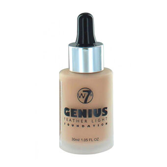 W7 Genius Feather Light Foundation 30ml, , large