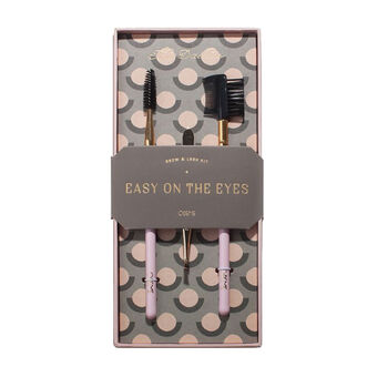 Men's Society Easy On The Eyes Brow & Lash Kit, , large