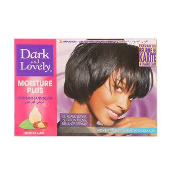 Dark And Lovely Moisture Plus No Lye Relaxer Kit Regular, , large