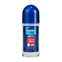 Vaseline Men Active Dry Roll On 50ml, , large