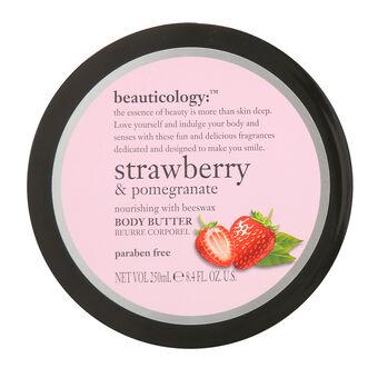 Baylis & Harding Beauticology Strawberry Body Butter 250ml, , large