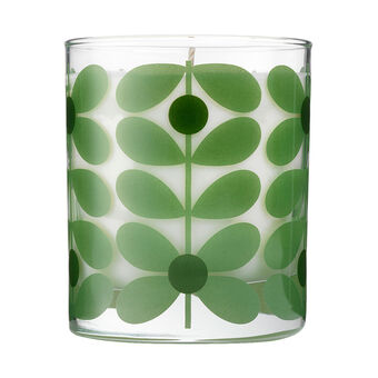 Orla Kiely Basil & Mint Travel Candle 70g, , large