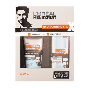 L'Oréal Men Expert Hydra Energetic Barber Shop Gift Set, , large