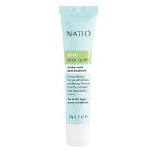 Natio Acne Clear Spots Antibacterial Spot Treatment 20g, , large