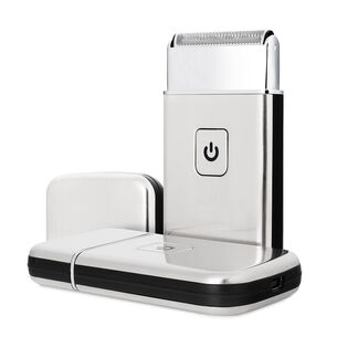 Flo USB Travel Shaver with Cable Silver, , large