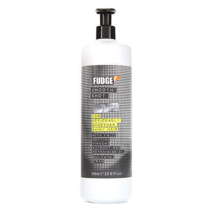 Fudge Smooth Shot Shampoo For Shiny Hair With Frizz 1Litre, , large