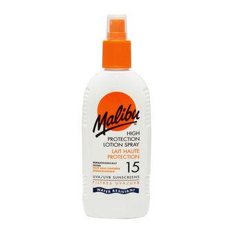 Malibu Sun Protection Lotion Spray SPF15 200ml, , large
