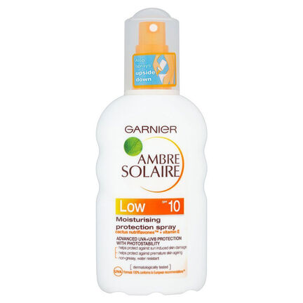 Garnier Ambre Solaire Protection Spray SPF10 200ml, , large