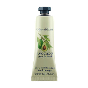 Crabtree & Evelyn Avocado Olive & Basil Hand Therapy 25g, , large