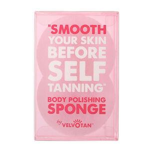 Velvotan Self Tan Body Polishing Sponge, , large