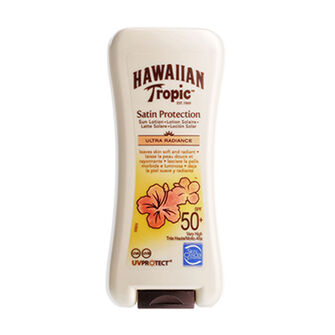 Hawaiian Tropic Satin Protection Sun Lotion SPF 50+ 180ml, , large