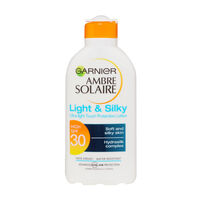 Garnier Ambre Solaire Light & Silky Protection Lotion SPF30, , large