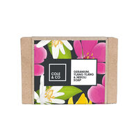 Cole & Co Ylang Ylang Geranium & Neroli Soap 80g, , large