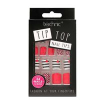Technic Tip Top Nail Tips Leopard Love, , large