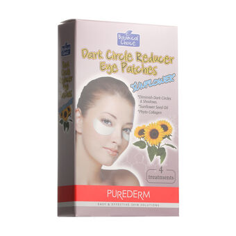 Purederm Dark Circle Reducer Eye Patches Sunflower 4 Patches, , large