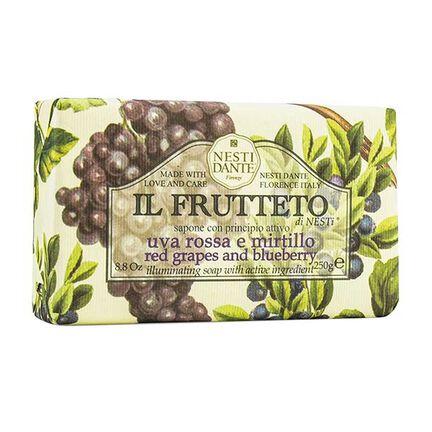 Nesti Dante Ill Fruetto Red Grapes and Blueberry Soap 250g, , large