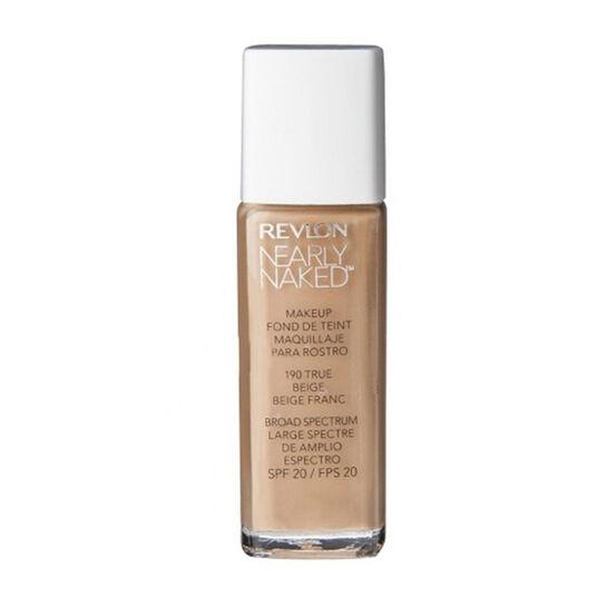 Revlon Nearly Naked Foundation 30ml, , large