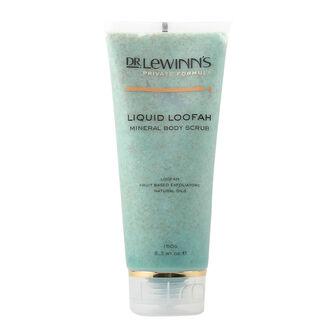 Dr Lewinns Liquid Loofah Mineral Body Scrub 150ml, , large