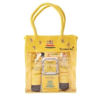 The Naked Bee Orange Blossom Honey Travel Kit, , large