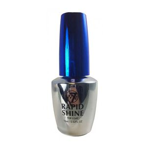 W7 Rapid Shine Quick Dry Top Coat 60 seconds 15ml, , large