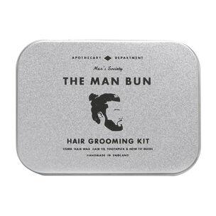 Men's Society Hair Kit - Man Bun, , large